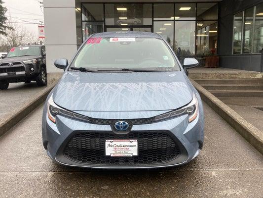 2020 Toyota Corolla Hybrid Le Cvt In Vancouver Wa