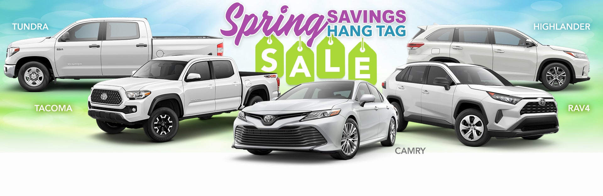 2019 Toyota Spring Savings At Vancouver